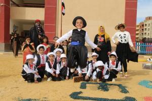 """طلاب المدرسة اليابانية بالسويس ينظمون """"Egyptian day"""""""