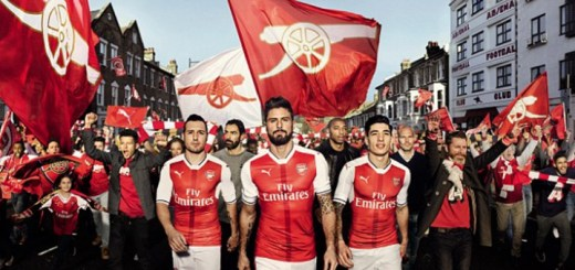 Arsenal unveil new 2016-17 home kit