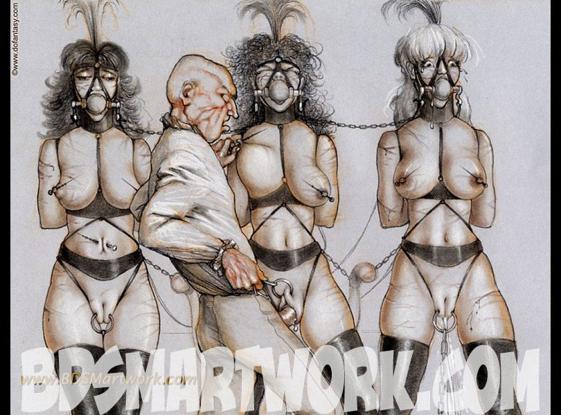 Tim richards bdsm art