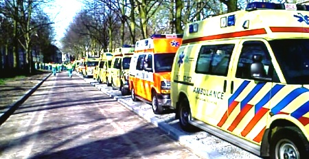 ambulances-op-het-voorhout