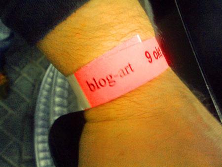 blogart polsbandje