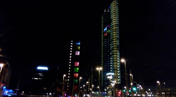 De Strijkijzer bij nacht