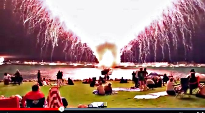 45 Minuten Vuurwerkshow Doet BOEM in 35 Seconden