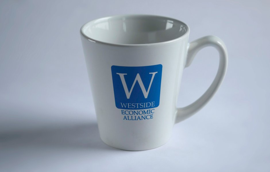 Westside Economic Alliance Logo mug