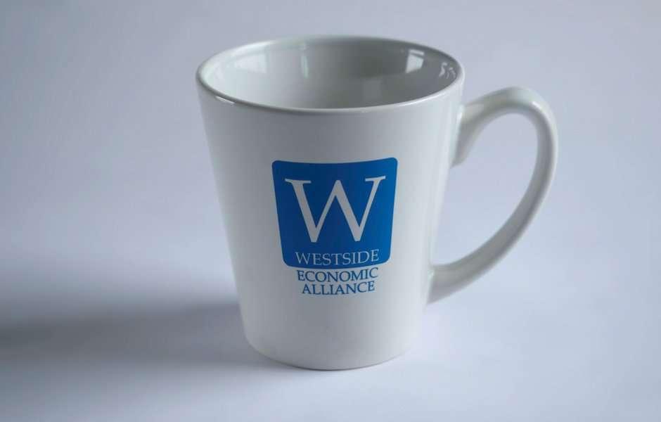Westside Economic Alliance Logo mug