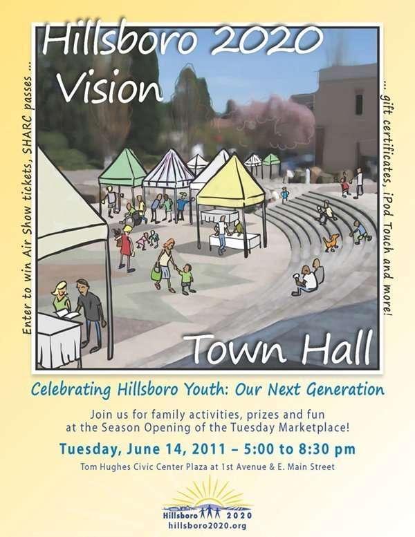 Hillsboro Town Hall Poster