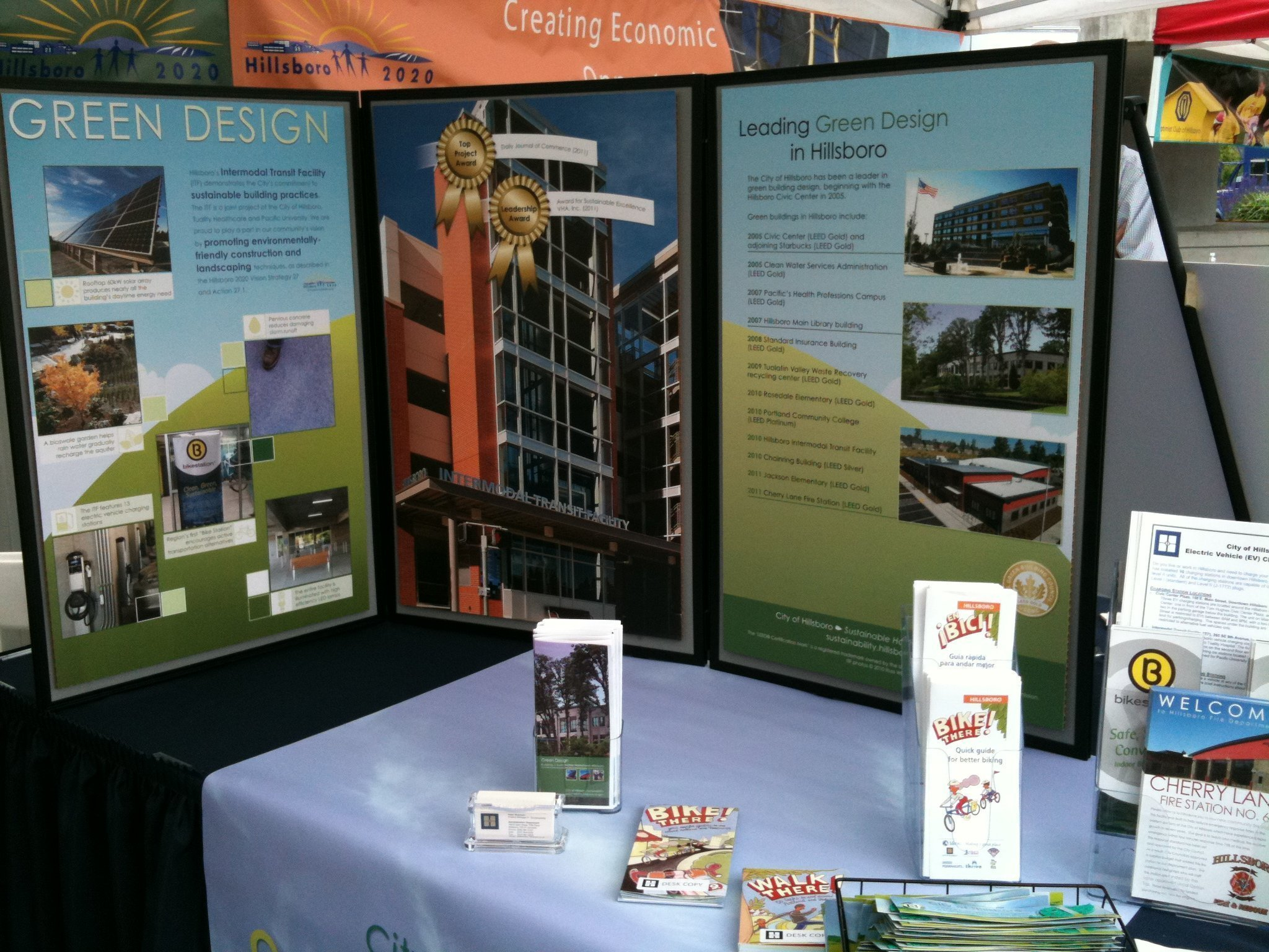 Sustainability Booth Display