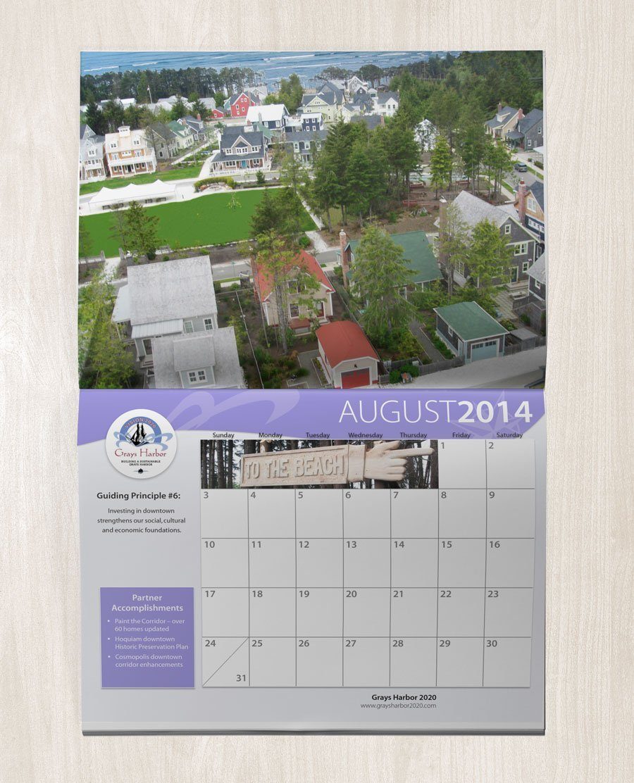 Grays Harbor 2020 calendar