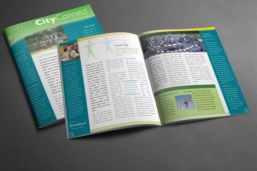 City Connect newsletter template