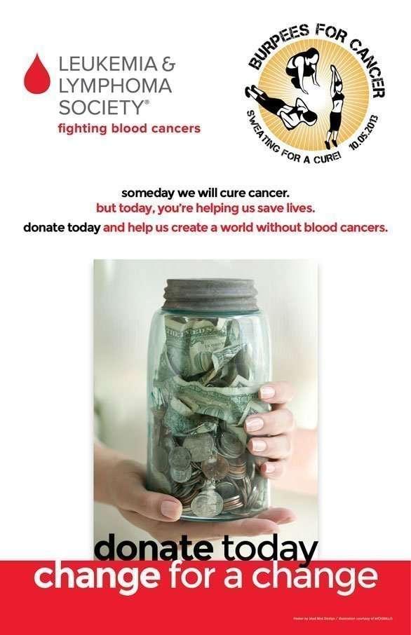 Leukemia & Lymphoma Society poster