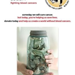 Leukemia & Lymphoma Society poster