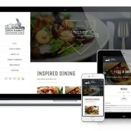 Iron Rabbit Restaurant & Bar website