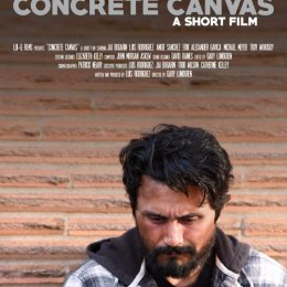 Concrete Canvas film poster