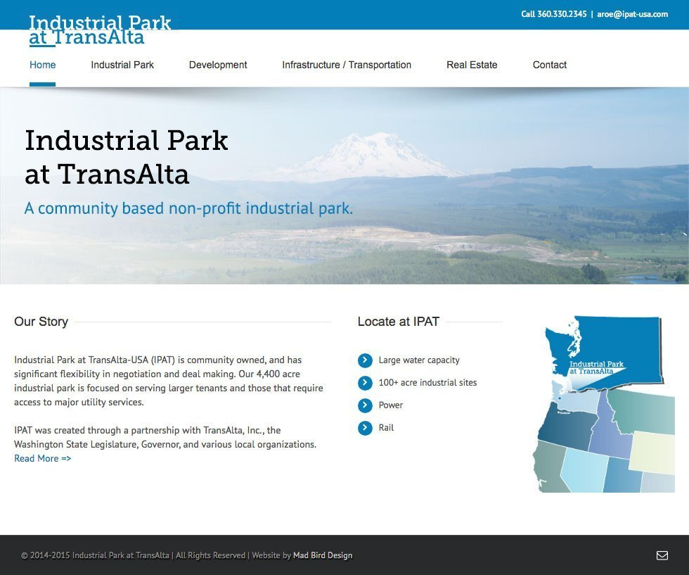 Industrial Park at TransAlta website