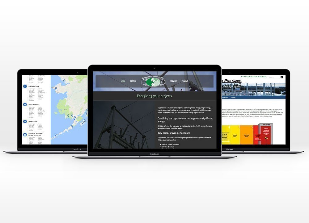 Engineered Solutions Group Websites