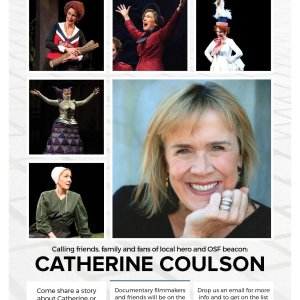 Log Lady Catherine Coulson Documentary Flyer