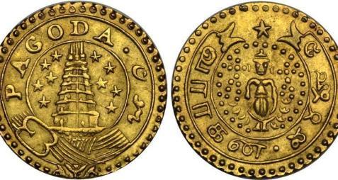 1 Varahan Gold Coin