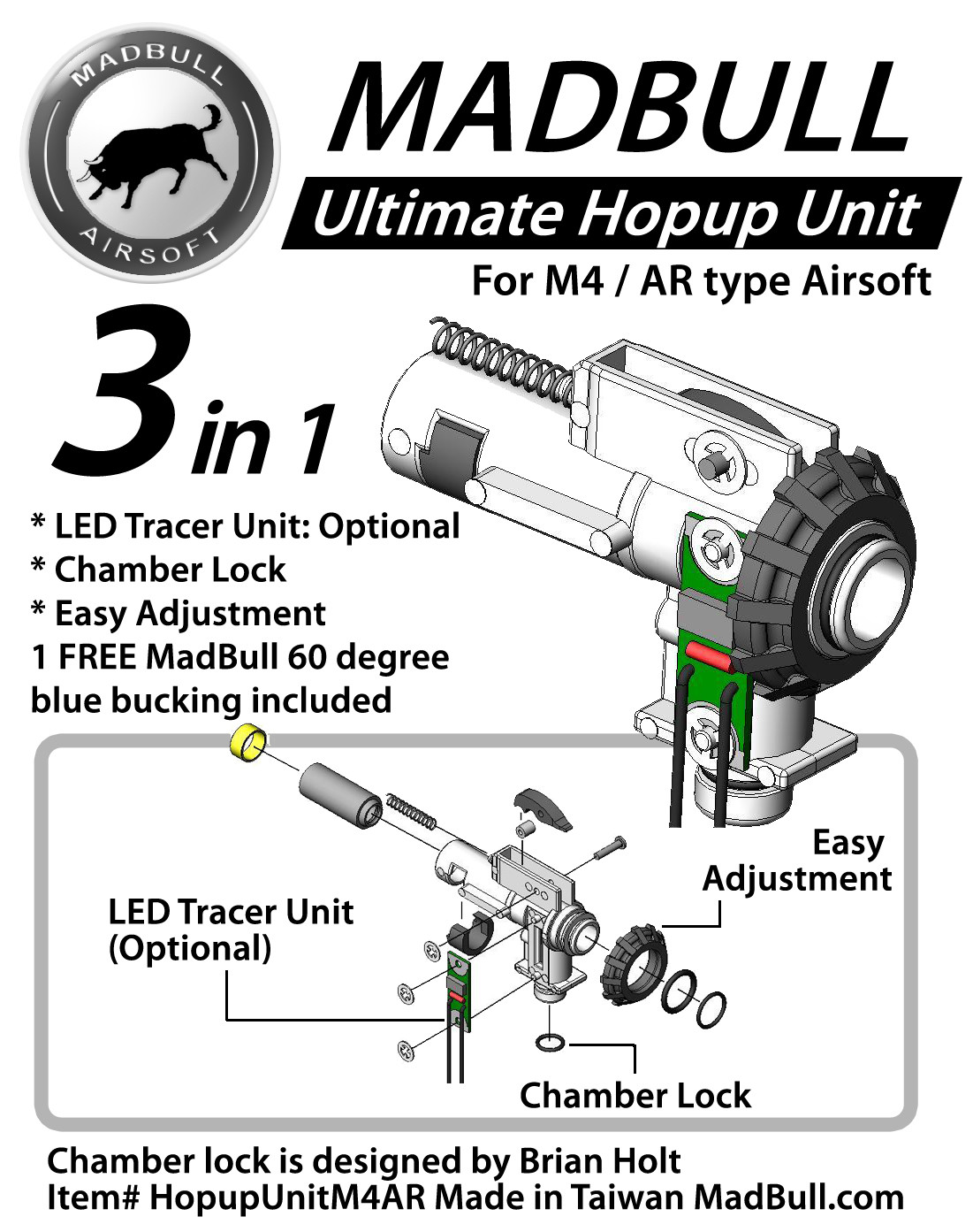 Ultimate Hopup Unit M4 Ar