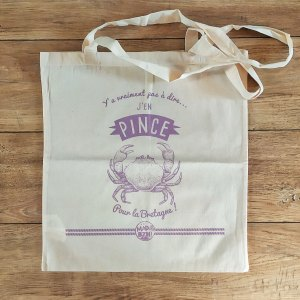 Tote bag Pince MAD BZH