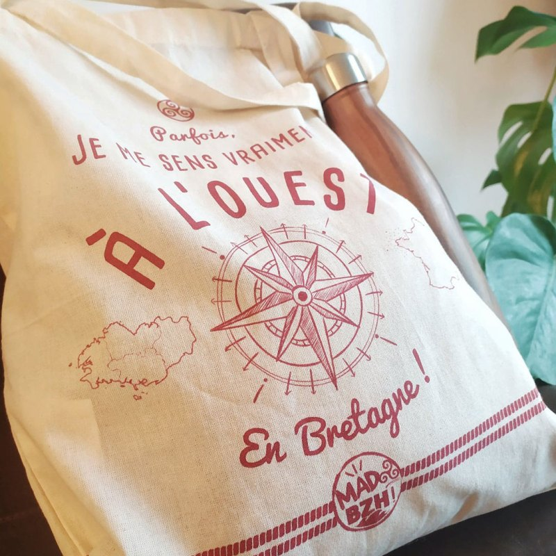 Tote bag Ouest MAD BZH