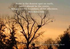 home is the dearest spot
