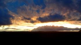Sunset After the Storm (Skagit County, WA) Photo by Karen Molenaar Terrell