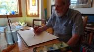Dee Molenaar painting