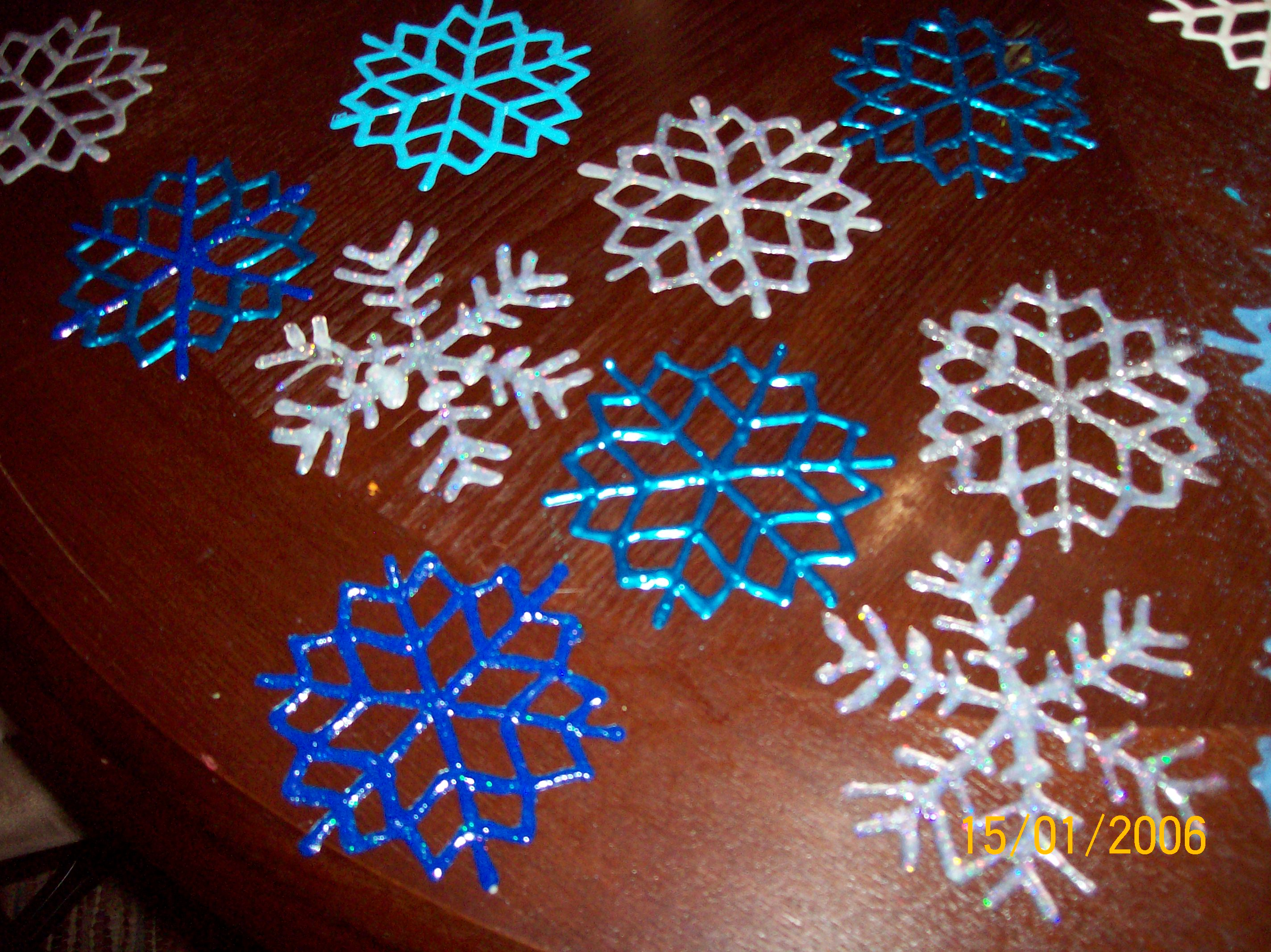 Puffy Paint Window Cling Templates