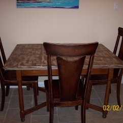 Distressed Kitchen Table Banquette Furniture Diy Madcap Crazy Creations