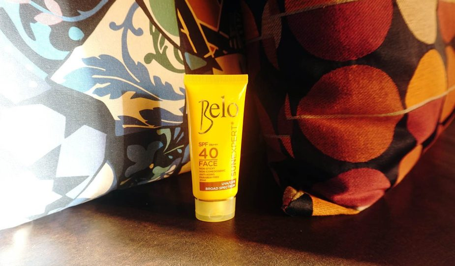 Here's a review of the Belo SunExpert Face Cover SPF40.