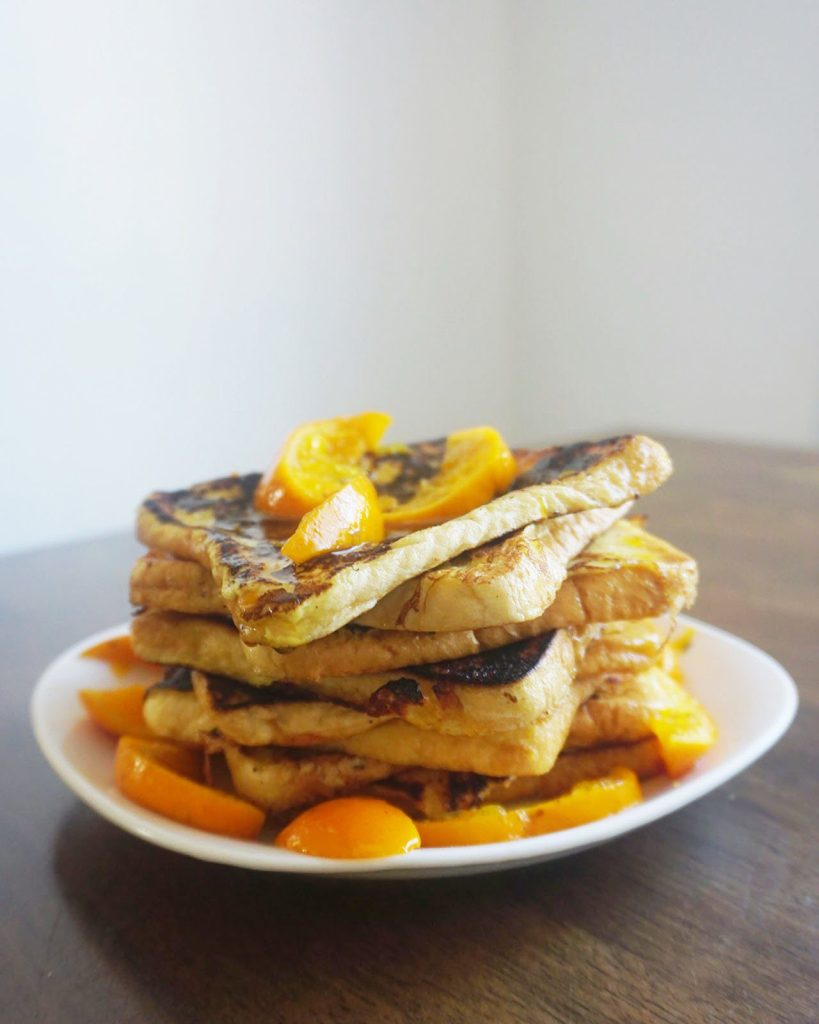 Sweet with some zest — just how I like my French Toast.