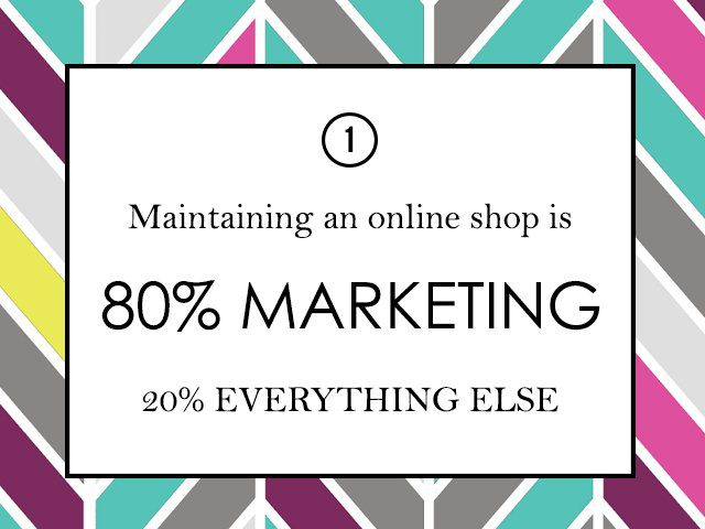 The first thing to know about running an online clothing shop is how to market it correctly.