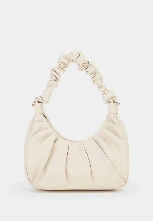 Pomelo Ruched Handbag