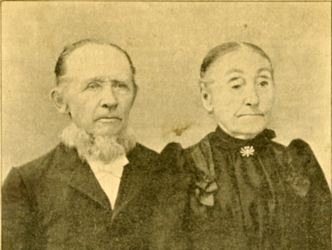 Rev. William Fiegenbaum and his wife Sophia Gusewelle