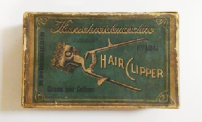 Hair clipper box