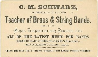 Schwarz business card