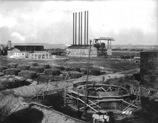Refinery construction