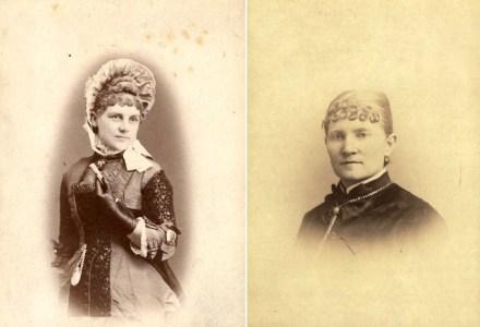 Josephine Gillespie and Phoebe Montgomery