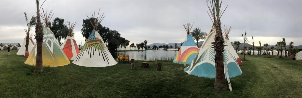 What is Camping at Lake El Dorado like at Coachella? - Madcrayy