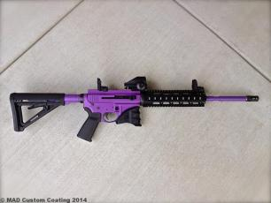 AR15 in Cerakote Bright Purple