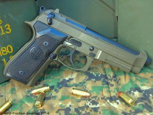 Beretta 92FS in Cerakote Tarjac Green