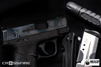 Smith & Wesson slide in Ghost MAD Dragon