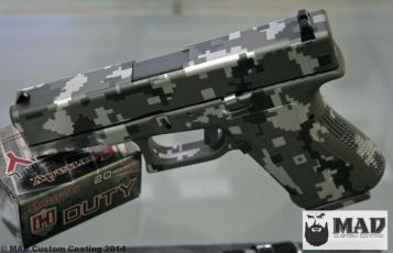 3 color Digital Camo Glock