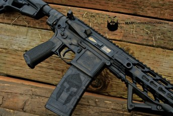 SanTan Tactical AR15 in War Torn using Dark Bronze and MAD Black