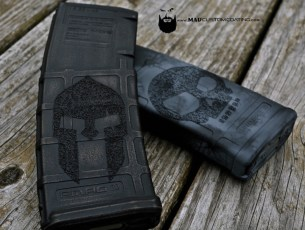 Spartan Worn Pmag w/Stippling by Piece Keeper Tactical