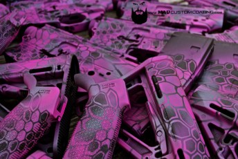 AR15 parts in Pink MAD Dragon