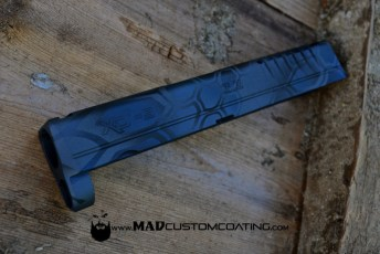 MAD Dragon Ghost Camo on an XD Slide using MAD Black, MAD Blue & Sniper Grey
