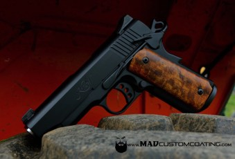 Kimber 1911 in all MAD Black