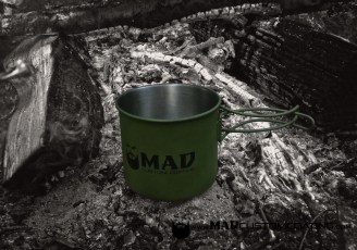 Camping Mug in MAD Black & OD Green
