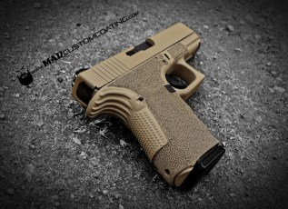 Glock 19 in Mud Brown w/Mad Black